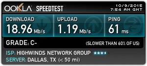 ipvanish-speedtest-us-dallas